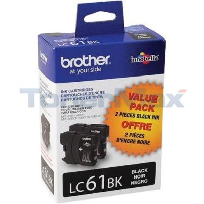 BROTHER MFC-6490CW INKJET CART BLACK